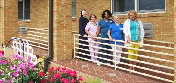 Employees of the St. Joseph's Senior House