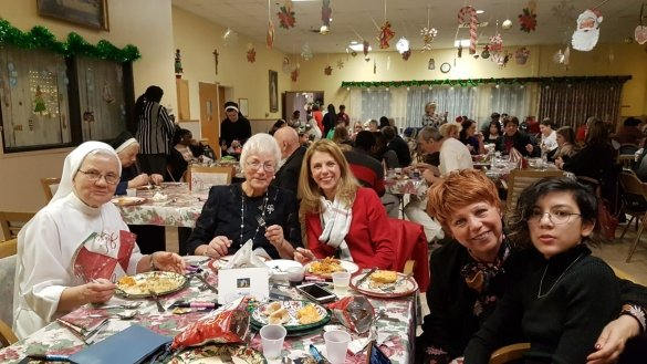 Christmas at St. Joseph's Senior Home